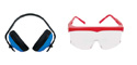Gehörschutz, Schutzbrillen