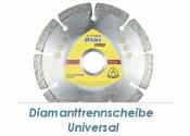 115 x 1,6mm  Diamanttrennscheibe Universal (1 Stk.)