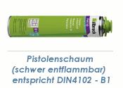 1K Brandschutz Pistolenschaum 750ml  B1 (1 Stk.)