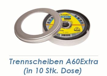 125 x 1mm Trennscheiben f. Metall / Edelstahl A60 Extra in Vorratsdose (1 Stk.)