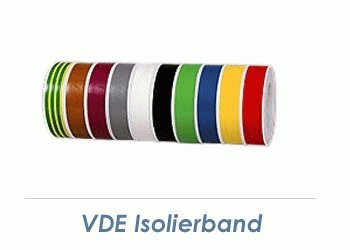 15mm VDE Isolierband grau - 10m Rolle (1 Stk.)