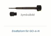 M6 Gewindedorn für GO-6-N // Ersatzteil (1 Stk.)