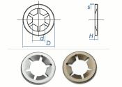 4mm Starlock® Sicherungsscheiben Federstahl (10 Stk.)