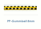 8mm PP Gummiseil Bunt (je 1 lfm)