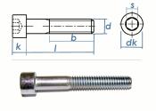 M8 x 75mm Zylinderschrauben DIN912 Stahl verzinkt FKL 8.8...
