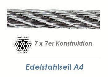 Favorit Drahtseil Edelstahl, Edelstahlseile HR51