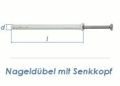 8 x 60mm Nageldübel m. Senkkopf Edelstahl A2 (1 Stk.)