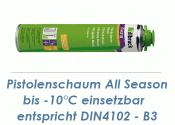 1K Pistolenschaum 750ml  All Season bis -10°C...