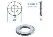 37mm Unterlegscheiben DIN125 Form B Stahl verzinkt (1 Stk.)