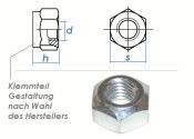 M5 Sicherungsmuttern DIN980 Stahl verzinkt FKL8  (100 Stk.)