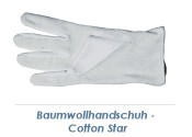 Baumwollhandschuh Cotton Star Gr. 10,5 (XL) (1 Stk.)