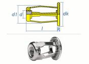 M8 x 20,5mm Spreiz-Blindnietmuttern Stahl (1 Stk.)