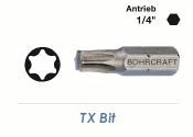 TX15 Bit Bohrcraft 25mm lang (1 Stk.)