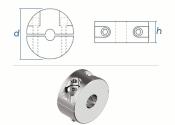 4mm Drahtseilklemmring 2-Teilig Edelstahl A4 (1 Stk.)