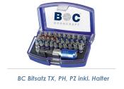 TX, PH, PZ Bitsatz + Halter 32-teilig Bohrcraft (1 Stk.)
