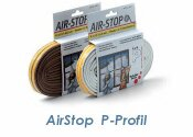 Dichtband Airstop P-Profil weiss 6m (1 Stk.)