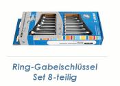 SW8 - 19 UNIOR Ring-Gabelschlüssel 8-teiliges Set...