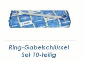 SW8 - 22 UNIOR Ring-Gabelschlüssel 10-teiliges Set...