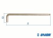 SW2 x 102mm UNIOR Sechskant Stiftschlüssel mit...