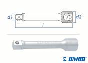 """1/2"""" x 250mm UNIOR Verlängerung 190.4/1..."""