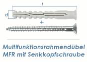 10 x 160mm Multifunktionsrahmendübel inkl. TX40...