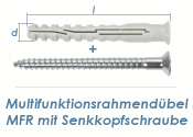 10 x 320mm Multifunktionsrahmendübel inkl. TX40...
