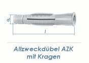 5 x 31mm Allzweckdübel mit Kragen (10 Stk.)