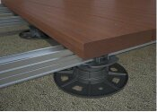 3,5-6cm Verstellfuß Base 2 für Terrassenunterkonstruktion (1 Stk.)