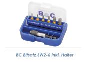 SW2-6 Bitsatz + Halter 7-teilig Bohrcraft (1 Stk.)