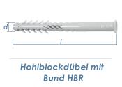 8 x 80mm Lochsteindübel extralang mit Bund (10 Stk.)