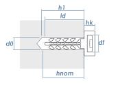 10mm Steckdübel InsertFIX grau (10 Stk.)