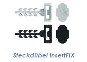 10mm Steckdübel InsertFIX schwarz (10 Stk.)