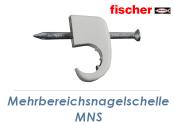 4-7mm Mehrbereichsnagelschelle MNS (10 Stk.)