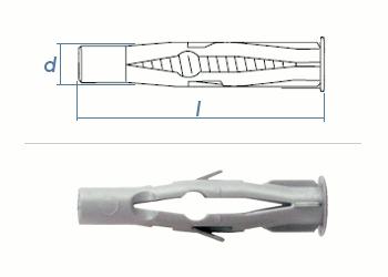 10 x 60mm Multidübel (10 Stk.)