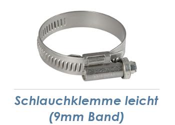 20-32mm / 9mm Band Schlauchklemmen verzinkt (1 Stk.)
