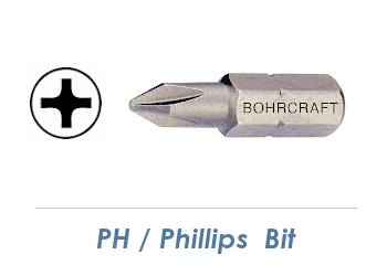 PH 1 Bit - 25mm lang (1 Stk.)