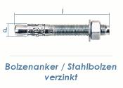 M12 x 110mm Bolzenanker verzinkt (1 Stk.)