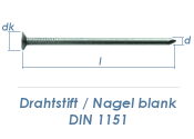 4,2 x 100mm Drahtstifte blank (5kg Paket)