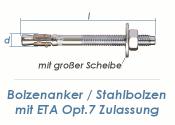 M16 x 300mm Bolzenanker verzinkt - ETA Opt. 7  (1 Stk.)