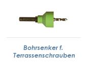 Bohrsenker für Terrassenschrauben (1 Stk.)