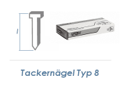 25mm Tackerdrahtstift Typ 8  (1 Pkg. zu 5000 Stk.)