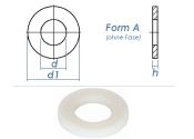 6,4mm Unterlegscheiben DIN125 Polyamid  (100 Stk.)