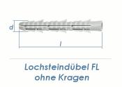 6 x 60mm Nylon Lochstein Dübel (10 Stk.)