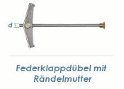 M3 Federklappdübel m. Rändelmutter (1 Stk.)
