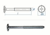 M6 x 80mm Zylinderkopfschrauben SW4 verzinkt (10 Stk.)