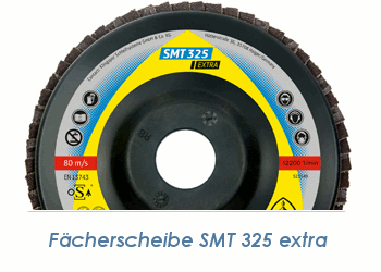 125mm Fächerscheibe K40 gewölbt 12° (1 Stk.)