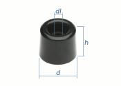 30 x 25mm Türpuffer PVC (1 Stk.)