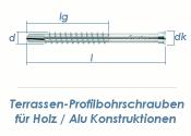 5,5 x 51mm Profilbohrschrauben C1 für Holz / Alu...