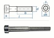 M4 x 6mm Zylinderschrauben DIN912 Edelstahl A2  (10 Stk.)
