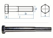 M8 x 85mm Sechskantschrauben DIN931 Teilgewinde Stahl...